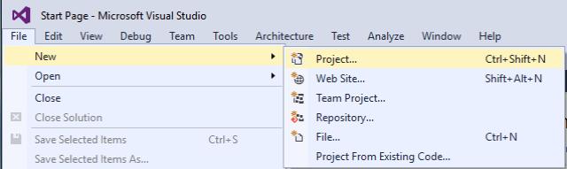 Hello UNO - New Project